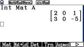 s_0102: Matrix ganzzahlige Anteile