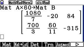 s_0105: Matrixmultiplikation mit Zahl