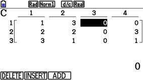 s_0116: Matrixspalte einfügen